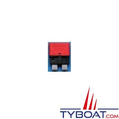 Disjoncteur thermique type 227 unipolaire réarmable 12/24V rouge 10A - par 10