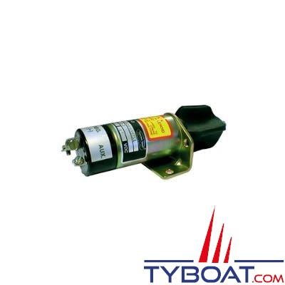 Electro-aimant à noyau mobile (pour arrêt diesel) 12 V 30A - Grande puissance