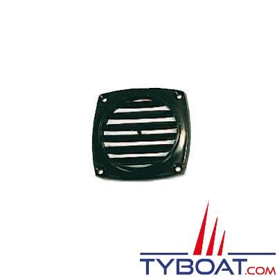 Grille de ventilation en ABS - Noir - 94 x 94mm- Vendu par 10