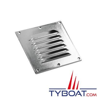 Grille de ventilation inox 316 dimensions 115 x 127mm - 1 unité