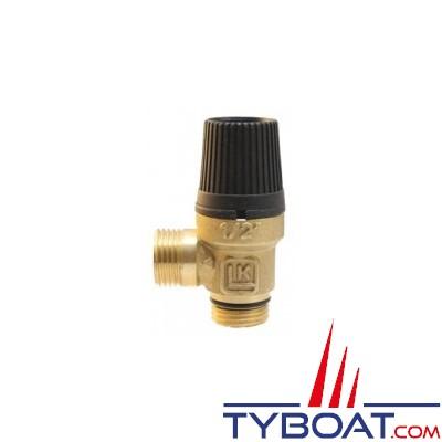 INDEL - SFD00005AA - Soupape 6 bars C.E. pour chauffe-eau BASIC - SLIM