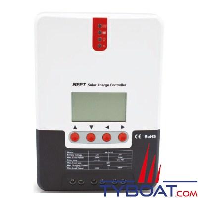 KENT - Régulateurs MPPT pour panneaux solaires 12/24 Volts 20 Ampères