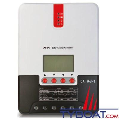 KENT - Régulateurs MPPT pour panneaux solaires 12/24 Volts 30 Ampères