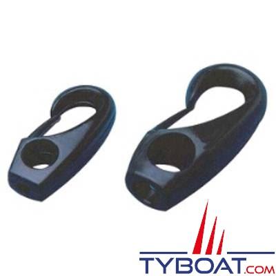 Mousquetons nylon pour sandows Ø4mm conditionnement par 20