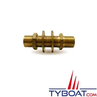 Passe-cloison en bronze - 20x27 - 3/4