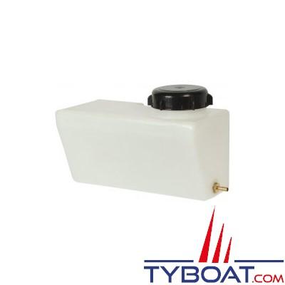 Kent Marine - Réservoir lave-glace en polyéthylène + 1 pompe 12 Volts - Capacité 8 Litres