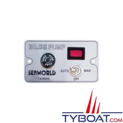 SEAWORLD - Tableau de commande pompe 3 positions 12/24V