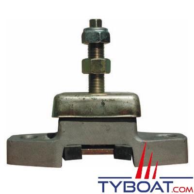 Support moteur à charge latérale avec protection avec entraxe 127mm 54/187kg tige 3/4
