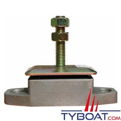 Support moteur à faible déplacement radial 14/41kg tige M12 - par 2