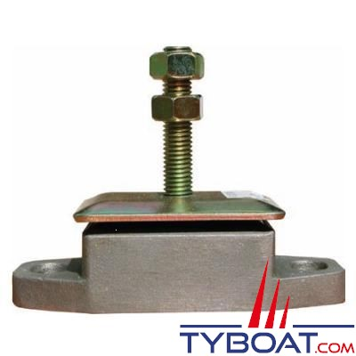 Support moteur à faible déplacement radial 32/90kg tige M12 - par 2