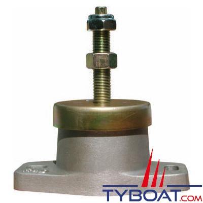 Support moteur cylindrique service lourd 295/680kg tige 3/4