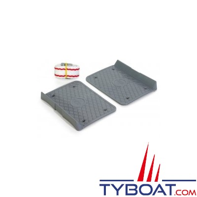 Support pour fixation bac à batterie et réservoir + sangle longueur 1,30 mètre