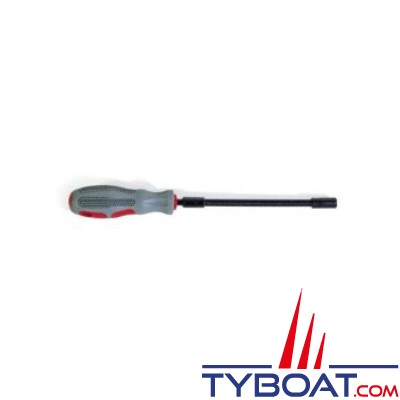 Tournevis flexible 6 pans 25cm