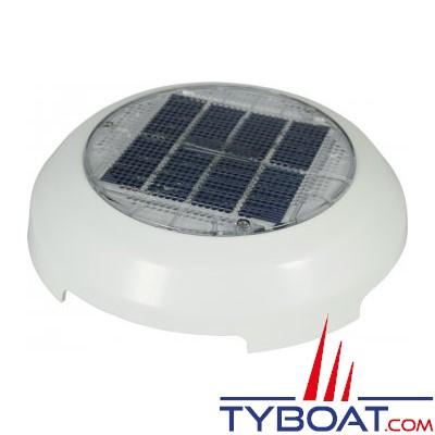 Nicro - Ventilateur solaire Jour/Nuit avec batterie - Ø 215 mm - Débit max 28 m3/heure