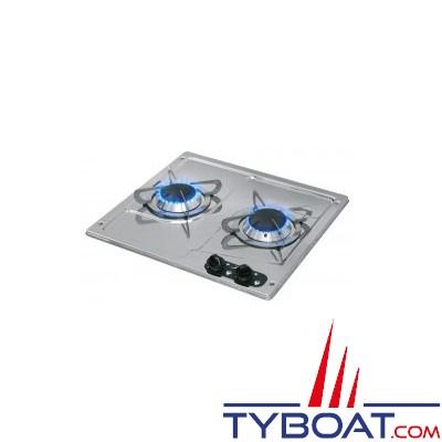 can plaque de cuisson can inox 2 br leurs can k401 tyboat com. Black Bedroom Furniture Sets. Home Design Ideas