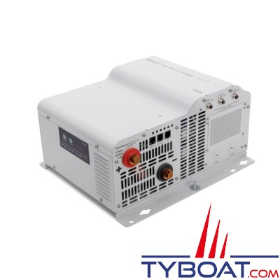 Kisae Abso IC-244090i - Combiné Chargeur convertisseur - Pur Sinus - 12V/230V - 4000W