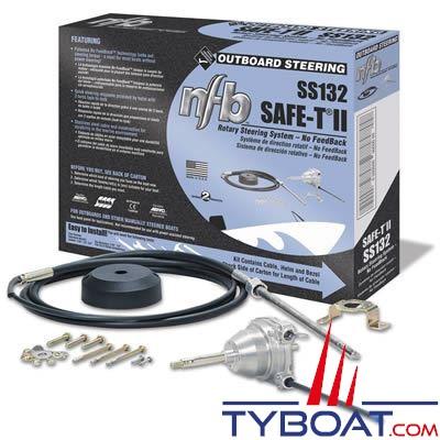 Kit de direction pour moteur hors bord Teleflex Safe-T II NFB longueur 11'' (3,35 m)