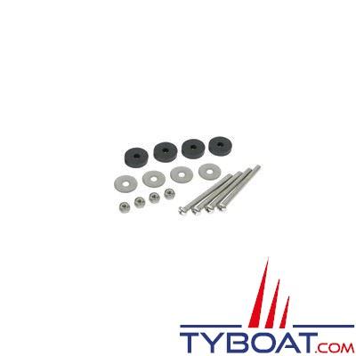 Kit de fixation pour moteur Motorguide - visserie inox