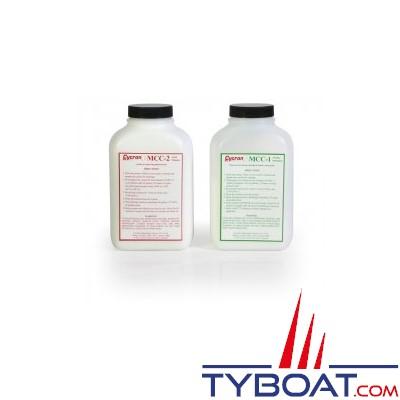 KATADYN - Kit de nettoyage pour dessalinisateur KATADYN POWER SURVIVOR - Alcalin + Acide - 2 x 675 gr