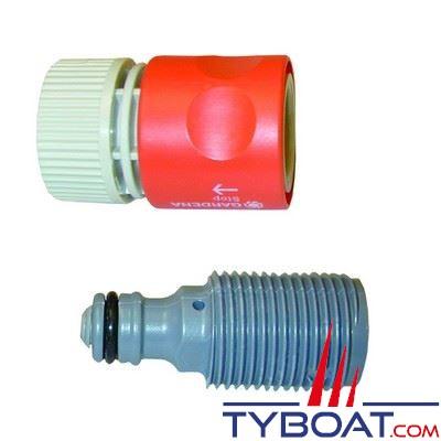 Kit rince moteur Gardena Quick Flush pour Johnson/Evinrude