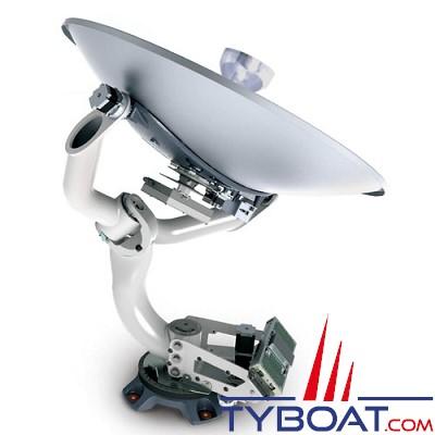 TRACVISION - Antenne HD11 - Réception TV Satellitaire marine - Parabole 105 cm Stabilisée 4 axes