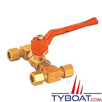 LECOMBLE/SCHMITT - BYPASS pour tuyau souple Ø10mm int.