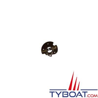 Jeu de charbons + platine 1200904 pour pompe hydraulique Lecomble & Schmitt  RV1 / RV2 / EV2