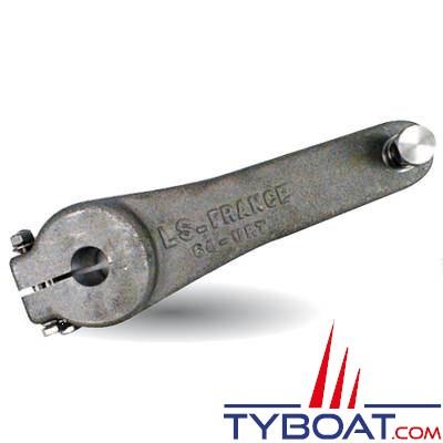 Lecomble & Schmitt - Bras de mèche aluminium type LS75P - Alésage brut Ø 22 mm max 40 mm