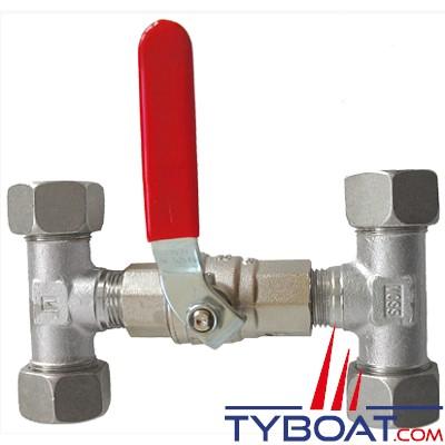 Lecomble & Schmitt - Vanne bypass pour tuyau rigide Ø 8x10mm