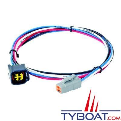 Lenco - Câble connexion moteur Yamaha / Command Link pour système Auto-Glide - longueur 7,5 mètres