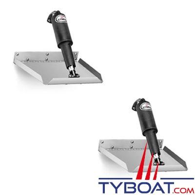 LENCO - Flaps électriques Edgemount TT12x12E - 12 Volts - 305 x 305 mm - commande non fournie