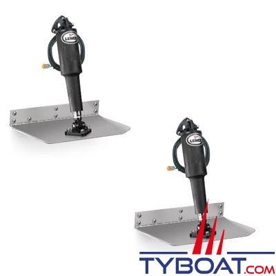 Lenco - Flaps électriques Standard TT12x18  - 12 Volts - 305 x 460 mm - commande non fournie