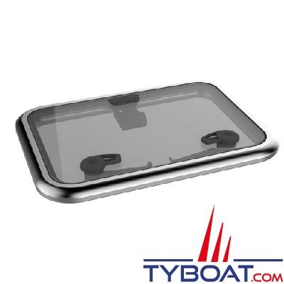 Lewmar - Acrylique gris de rechange avec joint pour panneau Médium Profile - taille 30 MK2