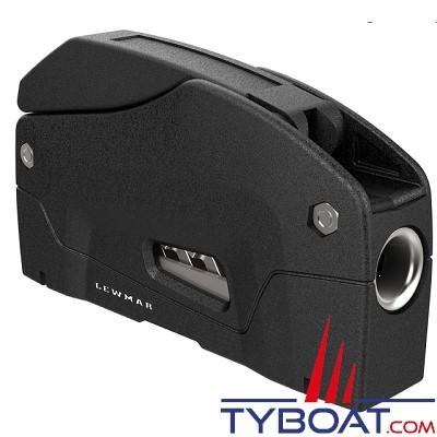 Lewmar - Bloqueur D1 simple pour cordage Ø 10 à 12 mm - noir