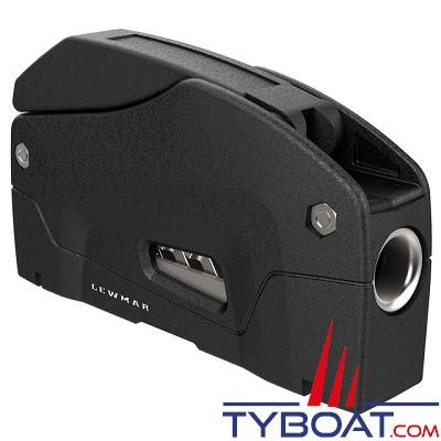 LEWMAR - Bloqueur D1 simple pour cordage Ø 6 à 8 mm - noir