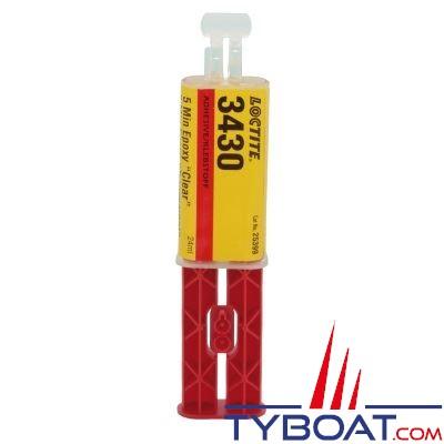 LOCTITE - adhésif époxy EA3430 bicomposant - 24ml