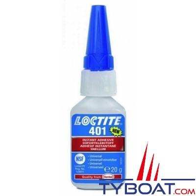 Loctite - Adhésif instantané 401 20gr