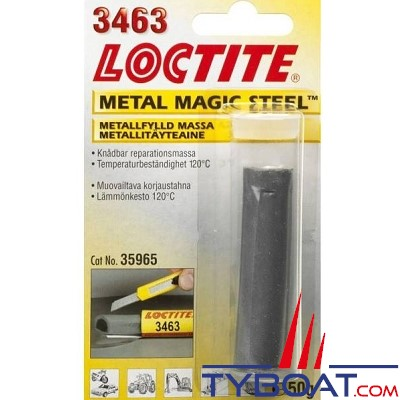 Loctite - Barre magic metal 3463 3+A+B 50gr