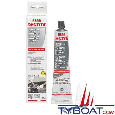 loctite silicone pour joints moteur 5699 gris 80ml loctite 18300249 tyboat com. Black Bedroom Furniture Sets. Home Design Ideas
