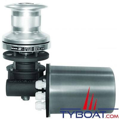 LOFRANS - Cabestan T1500 Aluminium  - 12 Volts 1500 Watts