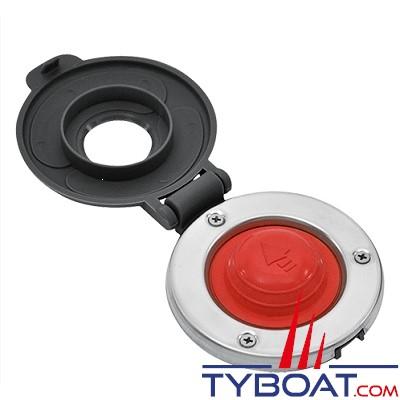 LOFRANS - Contacteur à pied Rouge/Gris Descente- 600011