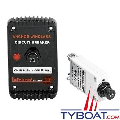LOFRANS - Coupe circuit Hydraulic-Magnet 40A pour guindeaux - 600029