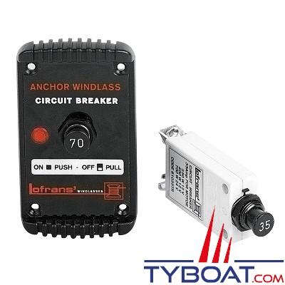 LOFRANS - Coupe circuit Hydraulic-Magnet 80A pour guindeaux - 630616