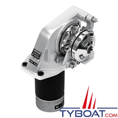 Lofrans - Guindeau horizontal DORADO - 12 Volts  500 Watts - Barbotin pour chaîne Ø  6mm ISO 4565 ou cordage 10-12 mm
