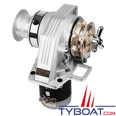 Lofrans - Guindeau horizontal KOBRA - 12 Volts 1000 Watts - Barbotin pour chaîne Ø 10mm ISO4565
