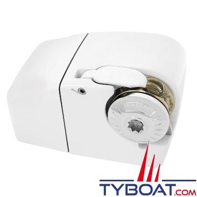 Lofrans - Guindeau horizontal LION 1000 - 12 Volts 700 Watts - Barbotin pour chaîne Ø 6mm ISO4565 ou cordage 10-12 mm