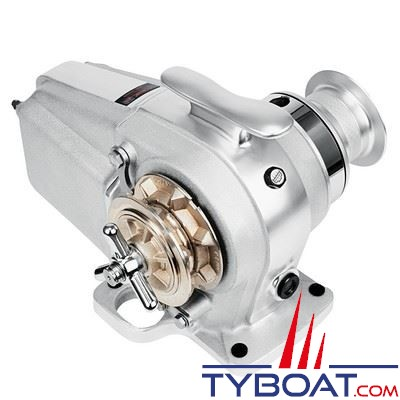 Lofrans - Guindeau horizontal TIGRES - 12 Volts 1500 Watts - Barbotin pour chaine Ø  8mm ISO 4565/DIN 766