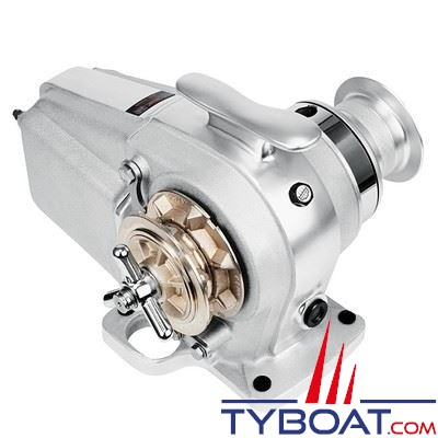 Lofrans - Guindeau horizontal TIGRES - 24 Volts 1500 Watts - Barbotin pour chaine Ø 10mm DIN766