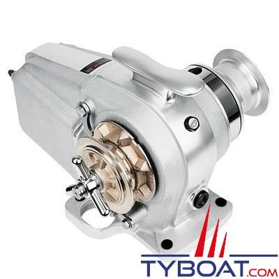 Lofrans - Guindeau horizontal TIGRES - 24 Volts 1500 Watts - Barbotin pour chaine Ø 10mm ISO 4565
