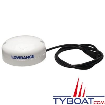 Lowrance - Antenne GPS Point-1 rafraîchissement 10hz 32 canaux avec compas intégré connecteur Micro-C NMEA2000
